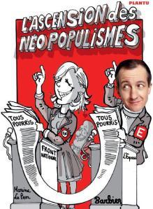 À droite, Christophe Barbier, journaliste à L'Express.